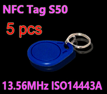 Buy 5pcs/Lot RFID Tag 13.56MHz S50 NFC Tags Key Tags Keyfobs Token Re-writable NFC Tag Keychain Access Control System for $1.40 in AliExpress store