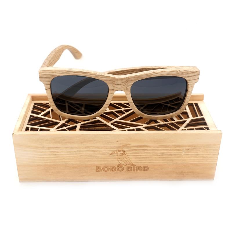 BOBO BIRD Mens Sunglasses Wood Luxury Brand Designer Mirror Polarized Lens Wood Sun Glasses Oculos de sol masculino 2017<br><br>Aliexpress