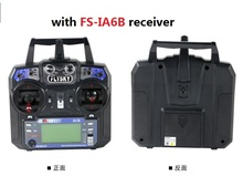 Newest Flysky FS-i6 FS I6 2.4G 6ch RC Transmitter Controller w/ FS-iA6B Receiver For RC Helicopter Plane Quadcopter Glider