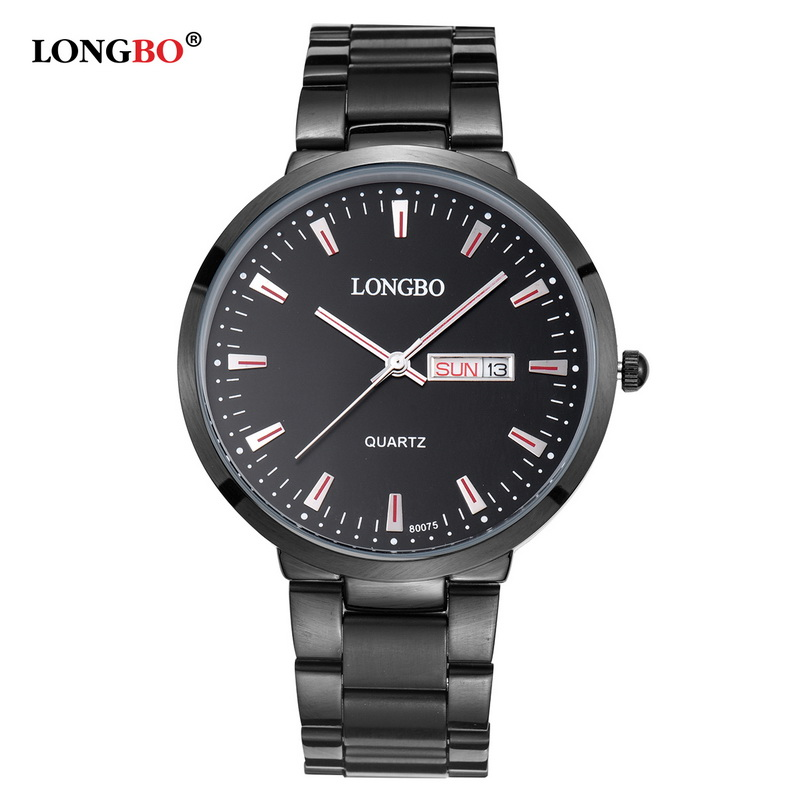 LONGBO Business Mens Quartz-watch Stainless Steel Band Watches Men Watches Multi-function Sports Wristwatches montre 80075<br><br>Aliexpress