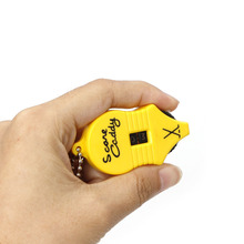 Golf supplies Hot Mini Golf Stroke Shot Putt Score Counter Tally Keeper Number With Key Chain Golf