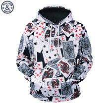 Mr. baoLong 2018 nuevos cartas completa 3D impreso hombres sudaderas con  capucha con cordón más tamaño M-3XL hoodie hombre moda . 4b6aca5cb25