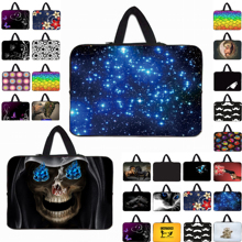 Notebook Laptop Sleeve Handle Carry Cover Cases For 7 inch 10 12 13 14 15 17 Neoprene Fashion Netbook Computer Bags Tablet Pouch