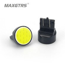 10X T20 Led Smd Cob 7443 led W21W Car stop Backup Reverse light Rear Front signal Led White Red blue yellow 12V