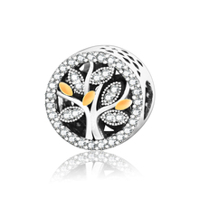 Buy Authentic 925 Sterling Silver Charms Hollow Family Tree Beads Fits Original Pandora Charm Bracelets Jewelry DIY Plata Berloque for $8.44 in AliExpress store