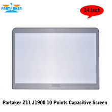 Partaker Z11 14 Inch Fanless Desktop J1900 Quad Core All in One PC With 10 Points Capacitive Touch Screen(China)