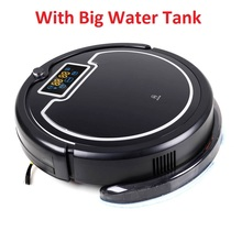 Buy Ship Russia/ Robot Vacuum Cleaner Water Tank,Wet & Dry Mop,Touch Screen,Tone,Schedule,Virtual Blocker,Self Charge,UV for $180.00 in AliExpress store