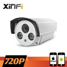 XINFI HD 720P Surveillance Camera 1.0 MP Outdoor Waterproof network CCTV IP camera P2P ONVIF 2.0 PC&Phone remote view