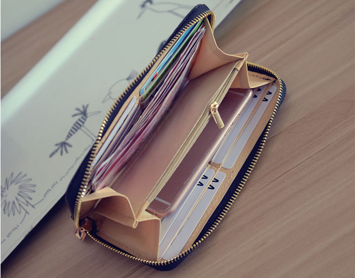 women wallet wallets leather (2)