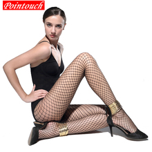 Buy POINTOUCH Sexy Summer Mesh Fishnet Tights Nylon Stockings Pantyhose Women Lace Thin Tight High Elastic Grid Girls Lingerie