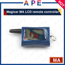 Free shipping Scher-khan magicar A two way LCD remote Starter For sher khan magicar A LCD car Keychain Magicar A