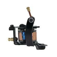 Free Shipping! Hot Professional Handmade Tattoo Machine Retail or Wholesale 10 Wrap Coils Machine 1100258