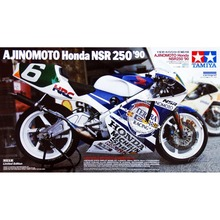 OHS Tamiya 14110 1/12 Ajinomoto NSR250 90 Scale Assembly Motorcycle Model Building Kits