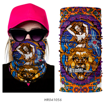 3D Seamless Magic Colorful Head Scarf Bandana Neck Warmer Tube Half Face Mask Headwear Headscarf Headband Bicycle For Women Men(China)