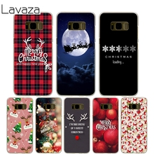 Lavaza merry Christmas Cover Case for Samsung Galaxy S7 Edge S6 S8 Edge Plus S5 S4 S3 Mini S2 Cases Shell