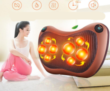 8 Deep-Kneading 2017 Cervical spine massager multifunctional massage pillow on-board household electric massage Body massage