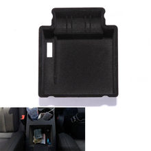 BBQ@FUKA 1Pc Car Armrest Box Interior Storage Tray Multi Utility Box Fit For Macan 2015 Car container accessory