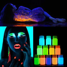 20ml UV Glow Neon Face Body Paint Fluorescent Bright Fluo Irradiate luminescent Party Festival Decoration Party Makeup(China)