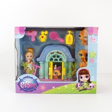 LPS Toy Pet Shop Cute Garden Set toy Kids Action Figures PVC LPS Toys for Children Birthday/Christmas Gift 2 Styles