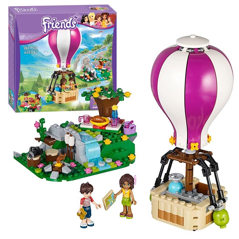 Bela 10546 Friends Heartlake Hot Air Balloon building Blocks Bricks Toys Girl Game Toys for children Gift Decool Lepin 41097<br><br>Aliexpress