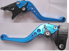 New bike motorcycle motorbike CNC brake&Clutch Lever Blue For Kawasaki Z750 Z 750 accessories (not Z750S model) 2004-2006 2005