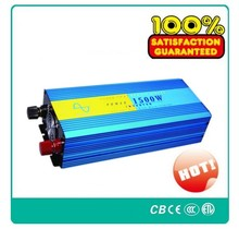 pure sine wave inverter 1500W max 3000W DC 24V AC 220V off grid power inverter! CE & ROHS standard ! Brand NEW !(China)