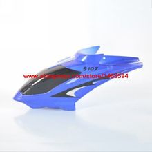 Wholesale Syma S107 S107G RC Helicopter Spare Parts Head cover (Blue color) Free Shipping