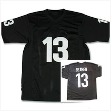 Willie Beamen Football Jersey #13 Given Sunday Movie Miami Sharks Stitched Black(China)