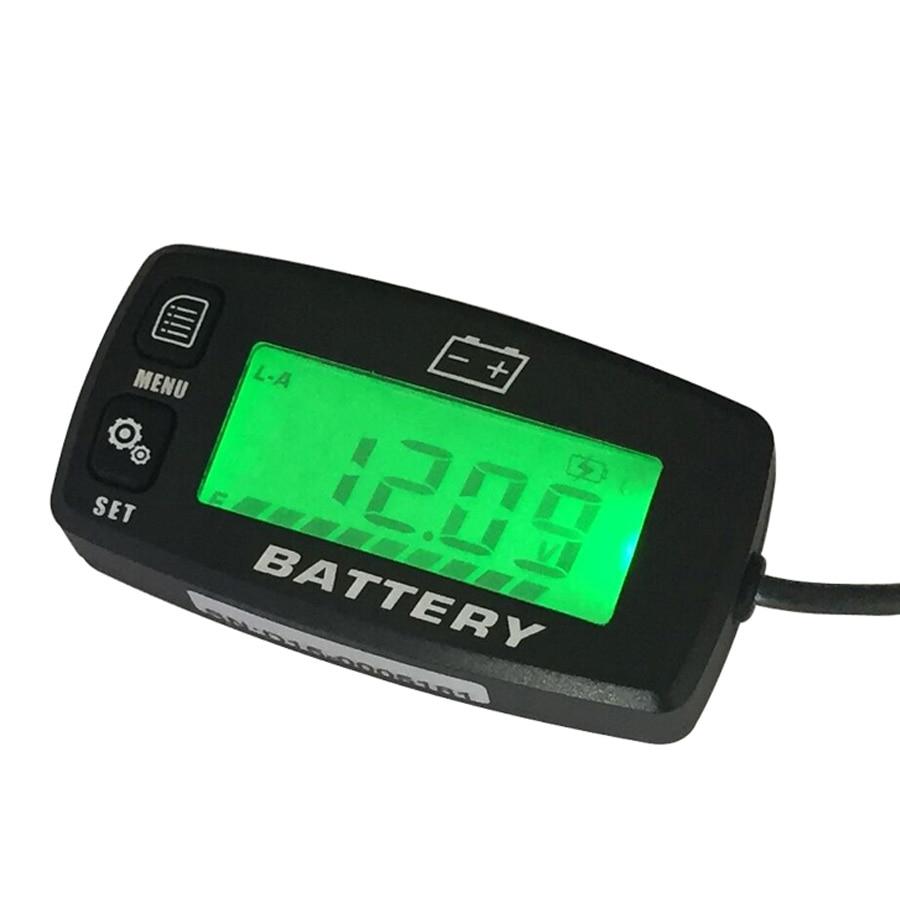 Lead acid storage battery GEL LiFeO4 AGM Voltmeter battery indicator FOR Motorcycle ATV Tractor Trolling Motor car<br>