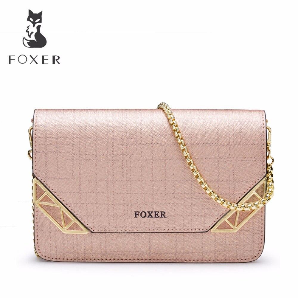 FOXER Brand Womens Crossbody Bag Fashion Shoulder Bag Mini Cellphone Messenger Bags for Girl<br>