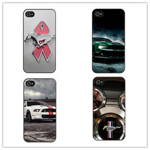 Ford Mustang Shelby Cobra Logo Cover Case for iPhone 4 4s 5  se 5s 5c 6 Plus 7 Phone Case