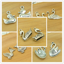 duck/goose/swan pendant animal shape charm diy jewerly finding accessories making bracelet necklace choker poultry free shipping
