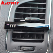 Kayme car air freshener perfume  car outlet air conditioner purifie auto flavorings car smell aromatizer car scent fragrance