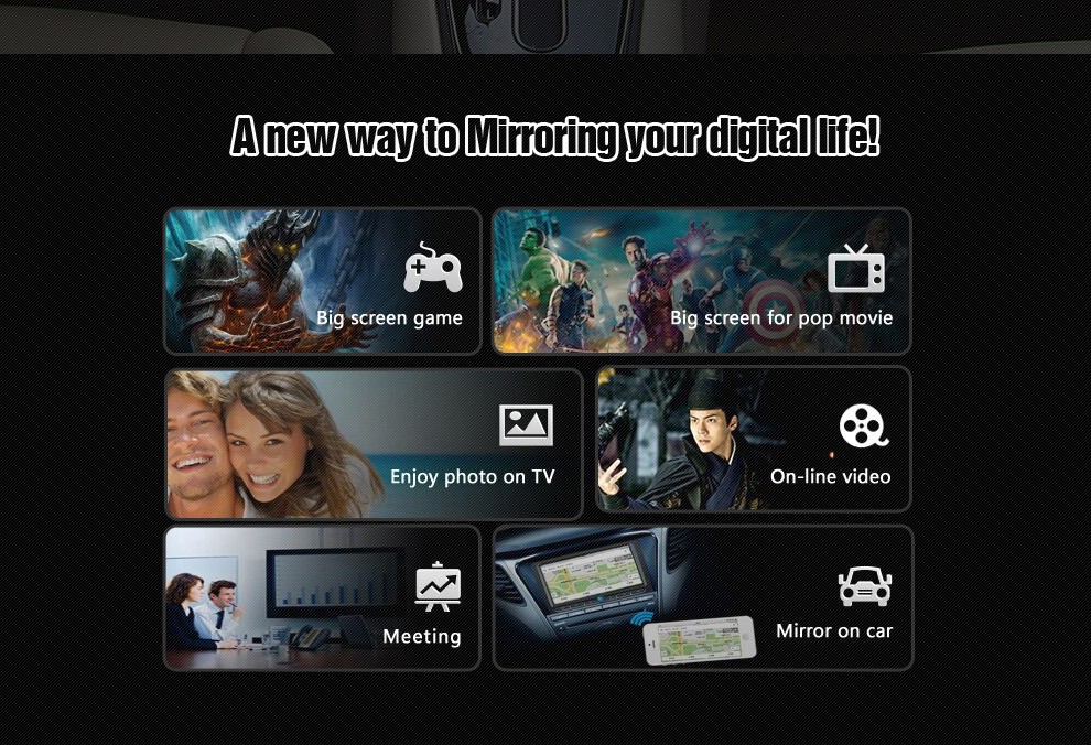 Car dual band 5G2.4G carplay box useful miracast rca support system retrofit with usb use home and in the car carplay box (5)