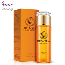 BIOAQUA Miracle skin Essence facial Toner Cosmetics Horse Ointment Face Skin care anti-aging whitening Moisturizing Oil Control(China)