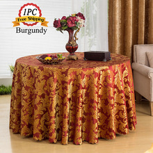 Best Sale 1PC 100% Polyester Chameleon Taffeta Table Cloth Damask Jacquard Table Overlay of Wedding Decoration Party Suppliers