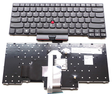 US Black With mouse pole New English Replace laptop keyboard For Lenovo For IBM Thinkpad  E430 E430C E330 E430S E435 S430 T430U