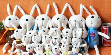 1X Super Kawaii Mini 12CM Metoo Rabbit Stuffed Plush TOY DOLL String Pendant Plush DOLL Wedding Bouquet Plush TOY DOLL