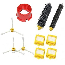 Ecombird 10pcs/LOT Brush Kit accessoires compatible for iRobot robot Roomba 700 Serie 700 760 765 770 775 780 790 aspirateur