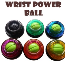 Multicolor Gyroscope PowerBall Gyro Power Ball Wrist Arm Exercise Strengthener Force Ball