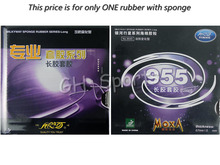 Galaxy Milky Way Yinhe 955 Long Pips-Out Table Tennis PingPong Rubber With Sponge for Ping Pong Racket low price(China)