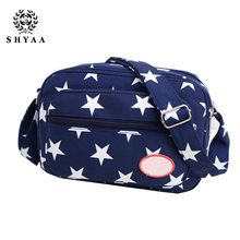 SHYAA 2017 Women Bag New Leisure Canvas Small Square Bag Shoulder Messenger Bag