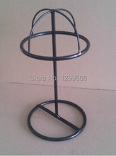 Best-selling  fashion circle  hat Stand Matte Metal cap/wig/Hat Display  stand holder rack J-08