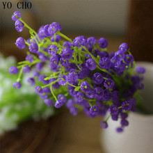 High grade simulation flower plastic flowers decorative home arranging babysbreath cheap plastic decorative-artificial-plants