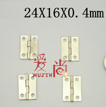 1 inch Light hinges  stainless steel thickness:0.4 mm   24x16x0.4mm