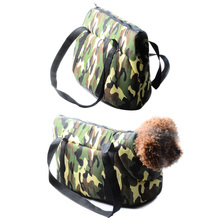 S/L Pet Dog Cat Carrier Canvas +Cotton Outdoor Travel Tote Bag  for Puppy Dog Bag Camouflage Carrier Breathable Pet Supplies