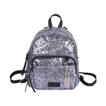 Fashion sequins Backpack Portable mini bags Ladies leisure backpacks Lovely little girl Backpack women Personalized small bag