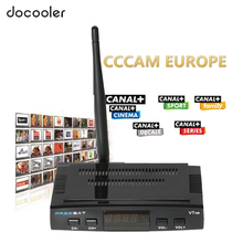 V7 HD DVB-S2 Satellite TV Receiver Set Top Box Support USB PVR EPG Cccam Youporn Newcame for TV HDTV with USB WiFi