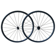 Newest 24mm Depth Carbon Wheels Clincher Wheels,Bicycle Carbon Wheels,700C Carbon Road Bike Wheels with 23mm wdith,Free Shipping