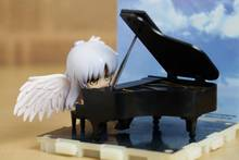 6.5cm Angel Piano Angel Beats Rewards A Reward Animation Collection PVC Action Figure Model Toys Gift Free Shipping(China)